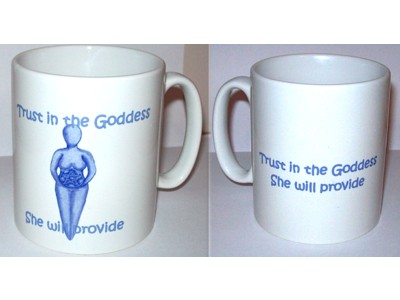 Goddess Inspiration Mug, Trust in the Goddess (Wrap)